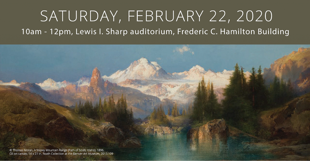 Saturday, February 22, 2020, Museums West invitation